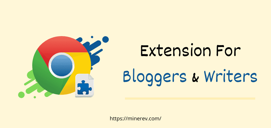 extension for bloggers