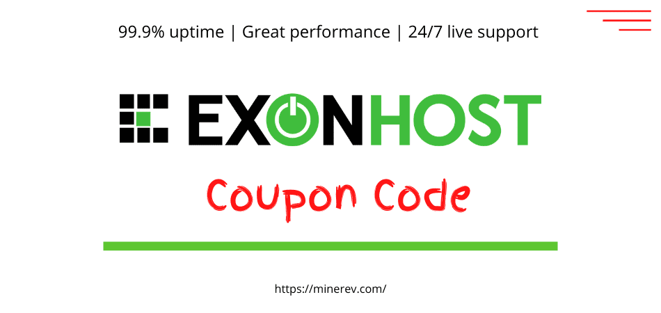 exonhost coupon code