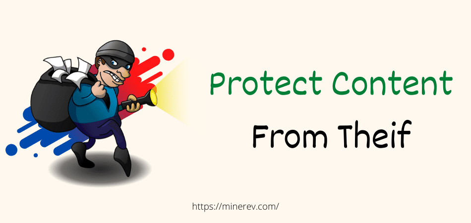 protect website content