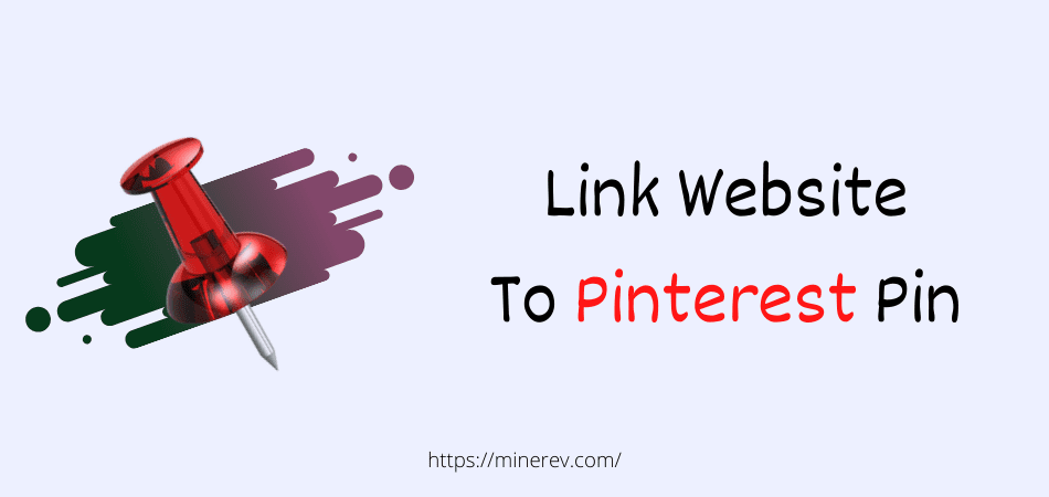 link website to pinterest pin