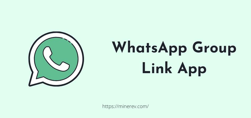 whatsapp group link app
